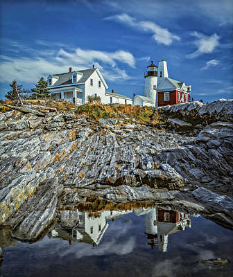 Photograph - Pemaquid Reflections by Gary Shepard