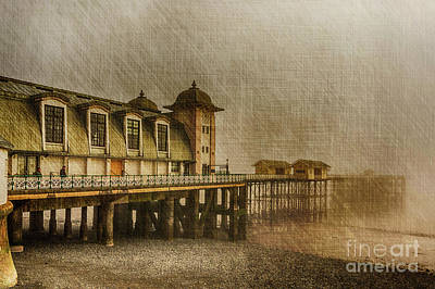 Photograph - Penarth Pier by Steve Purnell