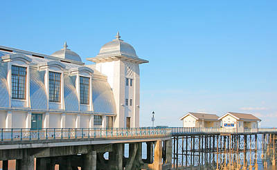 Wales Photograph - Penarth Pier by Susan Wall