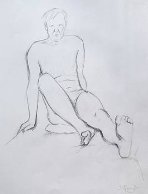 Drawing - Pencil Sketch 2.2011 by Mira Cooke
