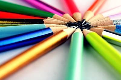 Draw Photograph - Pencils by Jun Pinzon