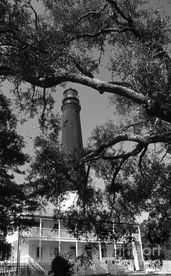 Pensacola Lighthouse Fl Art Print