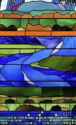 Pentecost Window Photograph - Pentecost II. by Stan Pritchard