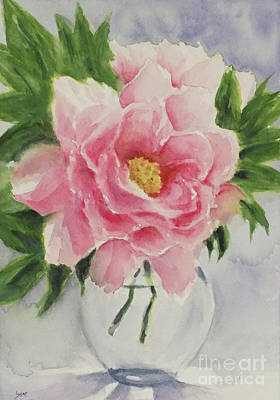 Painting - Peony by Yoshiko Mishina