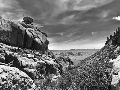 Photograph - Peralta Canyon by Sean Griffin