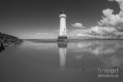 Photograph - Perch Rock Lighthouse by Ian Mitchell
