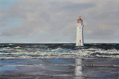Perch Rock Lighthouse Original by Mike Paget