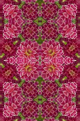 Digital Art - Perennial Garden Art by Sheila Mcdonald