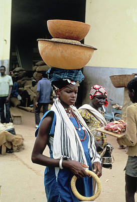 Photograph - Perfect Balance In Niamey by Carl Purcell