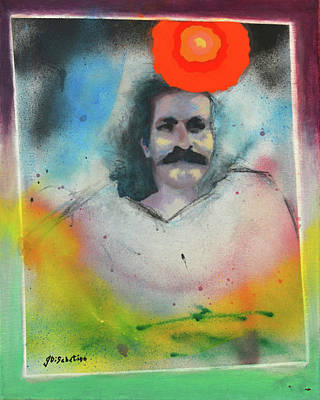 Meher Baba Painting - Perfect One by Joe DiSabatino