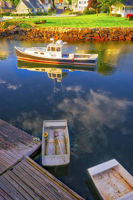 Photograph - Perkins Cove - Maine by Steven Ralser