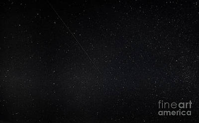 Photograph - Perseid Meteor Shower by Ricky L Jones