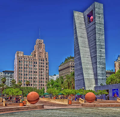 Pershing Photograph - Pershing Square Park by Mountain Dreams