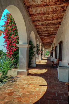 Mission San Luis Rey Photograph - Perspective by Stephen Campbell