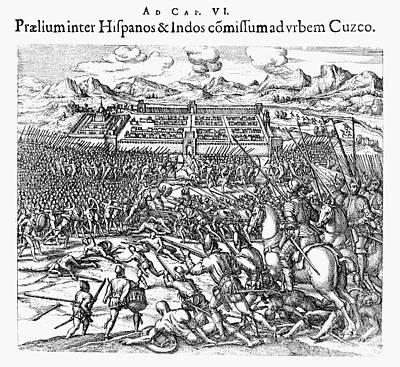Peru: Spanish Conquest Art Print
