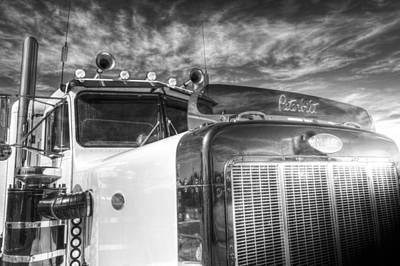 Photograph - Peterbilt American Truck by David Pyatt