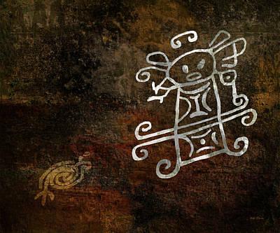 Petroglyph 1 Art Print