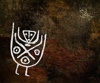 Petroglyph 4 Art Print