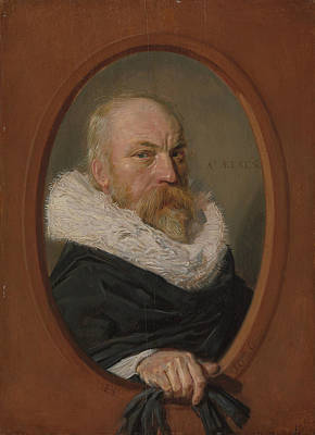 Painting - Petrus Scriverius by Frans Hals