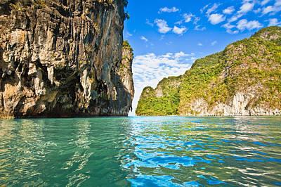 Bill Brennan Photograph - Phang Nga Bay by Bill Brennan - Printscapes
