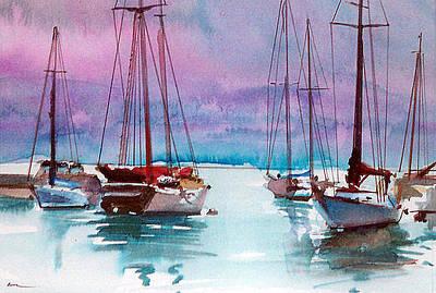 Painting - Phang-nga Bay by Ed Heaton
