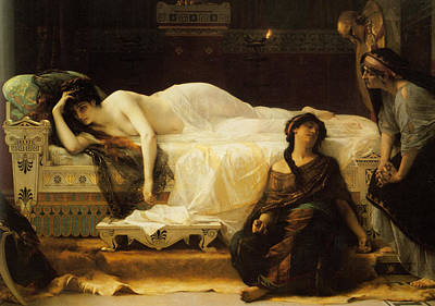 Torment Painting - Phedre by Alexandre Cabanel