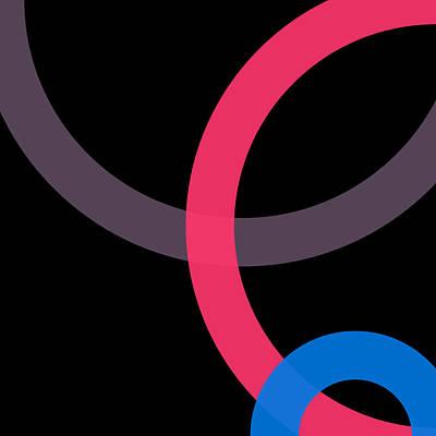 Drawing - 1 - Phi Word Circle by REVAD David Riley