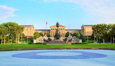 Eakins Oval Photograph - Philadelphia Architecture - Museum Of Art by Bill Cannon