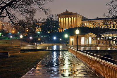 Photograph - Philadelphia Art Museum by Songquan Deng