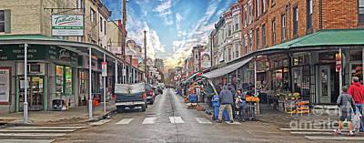 Philadelphia Italian Market 4 Art Print by Jack Paolini