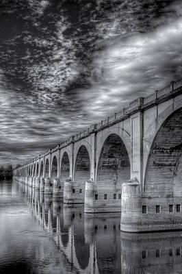 Digital Art - Philadelphia-reading Rr Bridge by Patrick Groleau