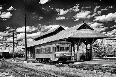 Art Print featuring the photograph Philadelphia Trolley by Paul W Faust - Impressions of Light