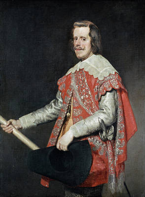 King Painting - Philip Iv, King Of Spain by Diego Velazquez