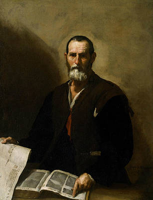 Painting - Philosopher Crates by Jusepe de Ribera