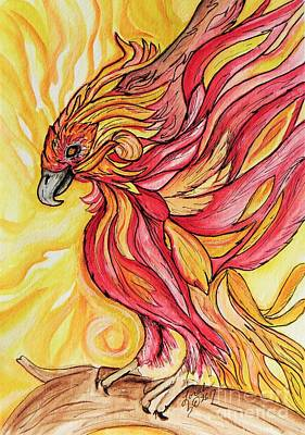 Painting - Phoenix by Lorah Tout