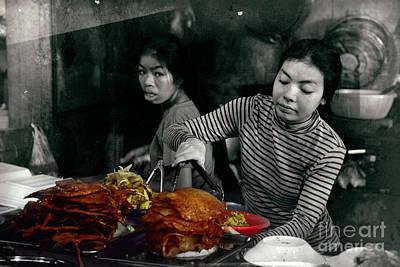Colourfull Photograph - Phsar Leu Market In Sihanoukville by Mirko Dabic