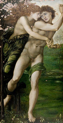 Painting - Phyllis And Demophoon by Edward Burne-Jones