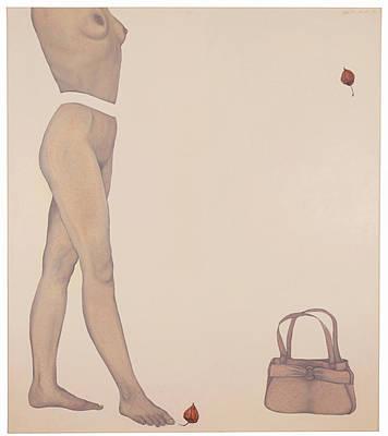 Atkinsky Painting - Physialis by Judith Sturm