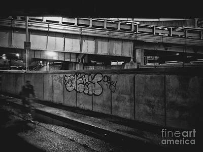 Physical Graffiti Art Print by Angelo Merluccio