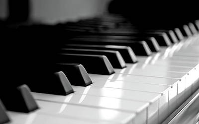 Piano Photograph - Piano by Jackie Russo