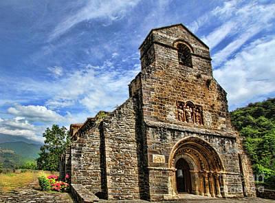 Photograph - Piasca Iglesia De Santa Maria _img 8461a by Diana Raquel Sainz