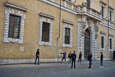 Photograph - Piazza Recess by JAMART Photography
