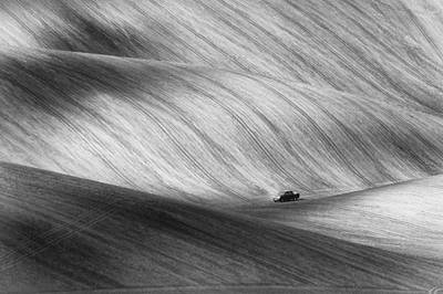 Moravia Photograph - Pickup by Piotr Krol (bax)