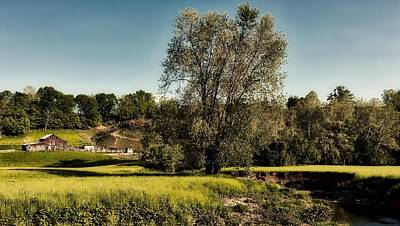Photograph - Picturesque West Virginia Farm by L O C