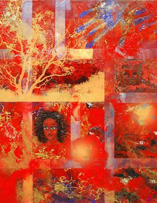 Edgy Art Digital Art - Pieces by Patricia Motley