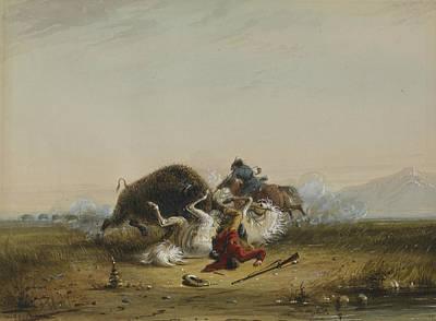 Pierre And The Buffalo Art Print
