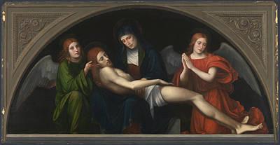 Pieta Digital Art - Pieta by Francesco Francia