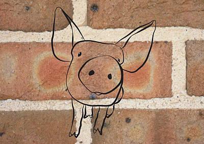 Pig Original by Diane Quee