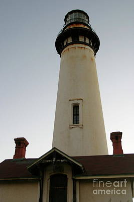 Photograph - Pigeon Point Light Station, California Photo By Pat Hathaway 2009 by California Views Mr Pat Hathaway Archives