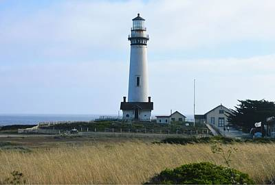 Photograph - Pigeon Point Lighthouse by Marian Jenkins
